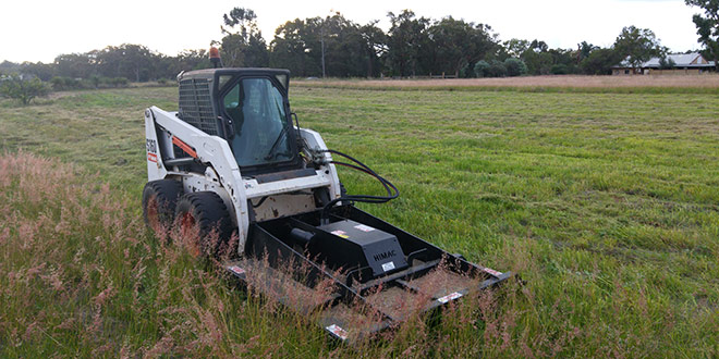 Mowing large fields and paddocks made easy!